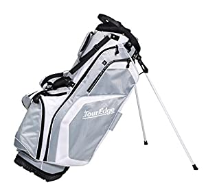 Tour Edge Golf 2015 Ladies Hot Launch Stand Bag Silver/White