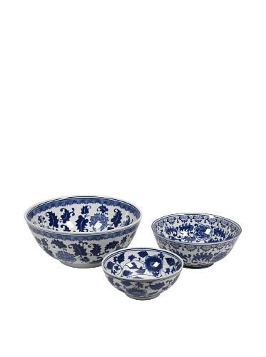 Set of 3 Tollmache Ceramic Bowls