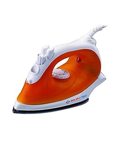 Bajaj Majesty MX 10 1250-Watt Steam Iron (Orange and White)