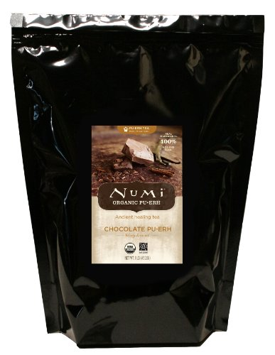 Numi Organic Tea Chocolate Pu-erh Tea, Loose Leaf Tea, 16 Ounce Bulk Pouch (Numi Chocolate Puerh compare prices)