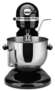 KitchenAid 4KG25H3XOB Professional HD Bowl-Lift Stand Mixer, Onyx Black