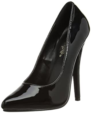 High-Heels-High-Heels-Pumps: Pleaser EU-DOMINA-420 DOM420/B Damen Pumps