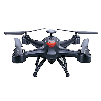 Babrit RC Quadcopter Drone Headless Mode 6 Axis Gyro Explorer Remote Control Quad Copter Drone Aircraft With 2.0M HD Camera