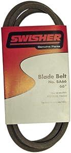 Swisher 66-Inch Belt - Fits T-44, RTB18552, T10544, T10544BSPB, T12544, T11544HSP BA66 by Swisher Mower