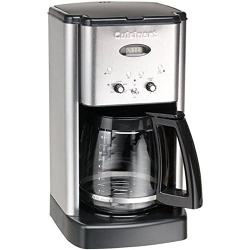 Cuisinart DCC-1200 Brew Central 12-Cup Coffeemaker Brushed Metal - (Certified Refurbished)