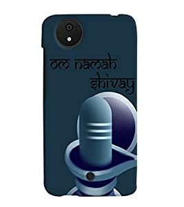 PRINTVISA Religious Shiva Quotes Case Cover for Micromax Canvas Android A1