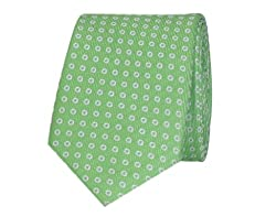 Tiekart Polka Print Men'S Tie (Skm158_Green)