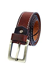 Contra Belt 40mm Leather Oil Plup Single Stiching KB-12 Antique