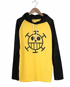 Special price Cosplay Costume ONE PIECE one piece Trafalgar Law style long-sleeved T-shirt size L Parker costume, cosplay (japan import)