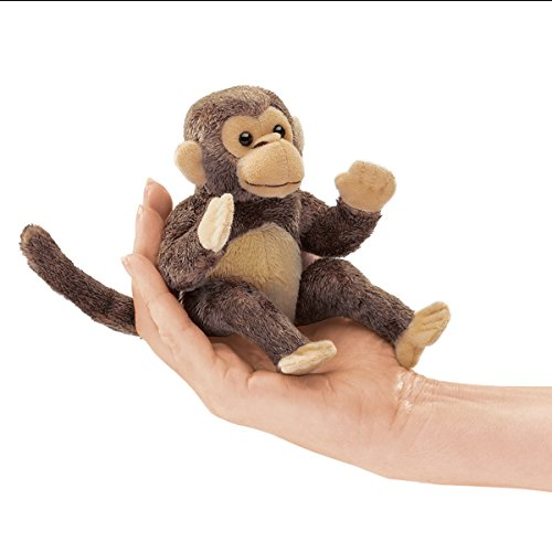 Folkmanis-Mini-Monkey-Finger-Puppet