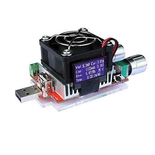 uniquegoods-35W-RD-Industrial-Grade-Elektronische-Lastwiderstand-USB-Schnittstelle-Entladung-Batterietestkapazitt-mit-Ventilator-einstellbare-Strom