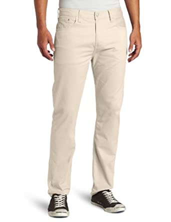 Levi's Men's 508 Regular Tapered Brushed Twill Pant, Silver Birch, 36x30