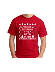 Christmas T Shirt Immitation Reindeer Snowflake