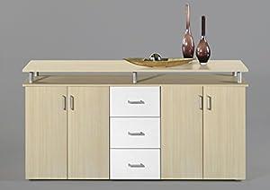 kommode ahorn wei. Black Bedroom Furniture Sets. Home Design Ideas
