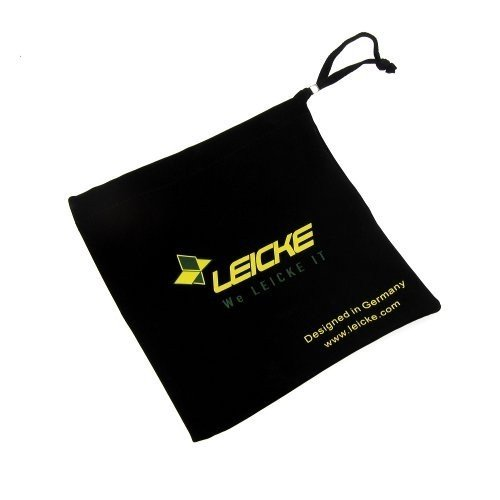 Leicke Black Protective Bag / Case / Pouch for Portable External USB Slim DVD-Rom Drives / Blu-Ray Drives (LEICKE Hebron Panasonic UJ890, LiteOn ETDU108-01, Samsung SE-S084C, Transcend, LG GP08NU20, Apple MacBook AIR Super Drive)
