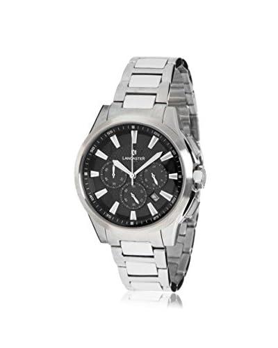 Lancaster Men's OLA0667C Black Stainless Steel Watch