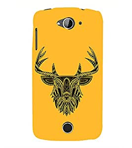 Indian Deer Graphics 3D Hard Polycarbonate Designer Back Case Cover for Acer Liquid Zade Z530 : Acer Liquid Zade Z530S
