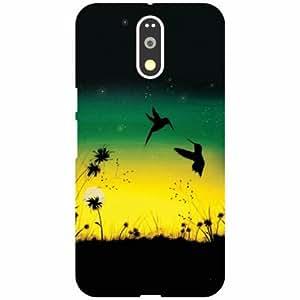 Motorola Moto G4 Plus Back Cover - Fly Designer Cases