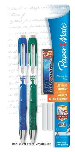 paper-mate-clearpoint-elite-07mm-mechanical-pencil-starter-set-2-mechanical-pencils