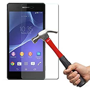 Trendz Tempered glass Screen guard for SONY XPERIA E4 ULTRA