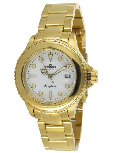 Régnier Semplicita R1324 Ladies Golden Stainless Steel Strap Steel Watch 2080312