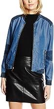 Juicy Couture Women's Dual Wash Tencel Long Sleeve Jacket