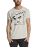 Scotch & Soda Camiseta Manga Corta (Crema)