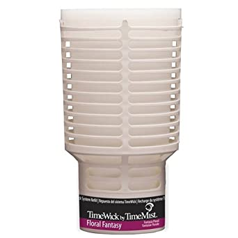 TimeMist 676109TM TimeWick Floral Fantasy NonMetered Air Freshener Refill (Case of 6)