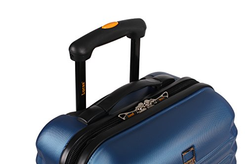 Lucas Luggage Hard Case 3 Piece Collection Expandable Suitcase Set With Spinner Wheels