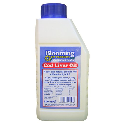 Artikelbild: Blooming Pets Cod Liver Oil (dog & Cat) 500ml Bottle