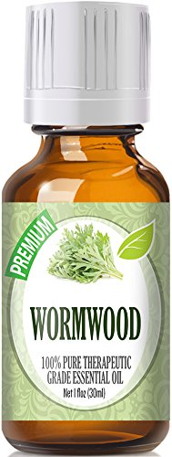 Wormwood Essential Oil (30ml) 100% Pure, Best Therapeutic Grade Essential Oil - 30ml / 1 (oz) Ounces