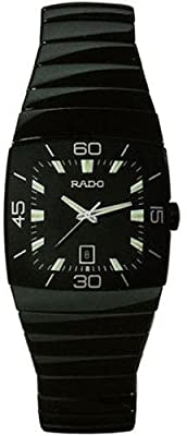 Rado Men's R13797152 Sintra Black Dial Watch