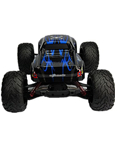 Taipove Full Proportional 2WD Brush High Speed Monster Truck with 2.4GHz Radio Remote Control Charger Included 1/12 Scale with Waterproof Electronics GPTOYS Foxx S911(Blue) (Radio Control Hummer compare prices)