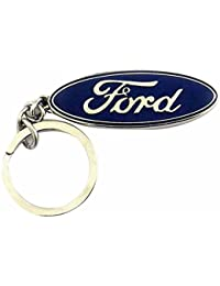Techpro Single Sided Ford Key Chain (Multi-Color)