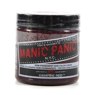 MANIC PANIC Cream Formula Semi-Permanent Hair Color - Vampire Red