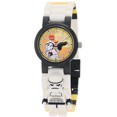 [レゴ ウォッチ]LEGO WATCH 腕時計 StarWars スター・ウォーズ Storm Trooper ストームトルーパー ミニフィギュアリンク 9004339 [並行輸入品]