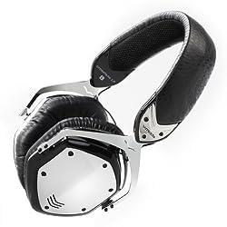 V-MODA Crossfade LP Over-Ear Noise-Isolating Metal Headphone (Phantom Chrome)