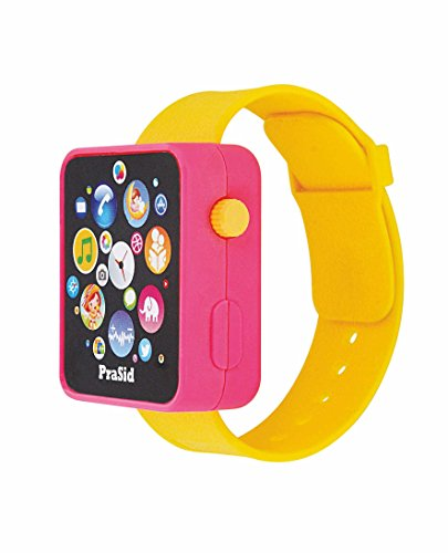 Prasid English Learner Smart Watch, Pink/Yellow