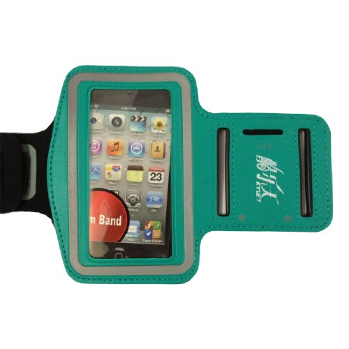 Green New Elastic Sports - Running Armband Cover Case For Iphone 4S ,4 ,4G, 3G, 3Gs,Ipodtouch 3 And 4