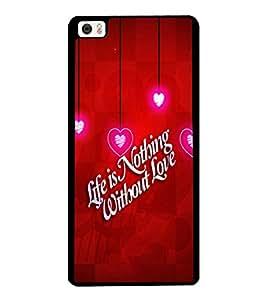 Printvisa 2D Printed Love Quote Designer back case cover for Xiaomi Mi 5 - D4355