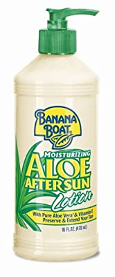 Best Cheap Deal for Banana Boat Aloe Vera Sun Burn Relief Sun Care After Sun Lotion - 16 Ounce (Pack of 4) by Banana Boat - Free 2 Day Shipping Available