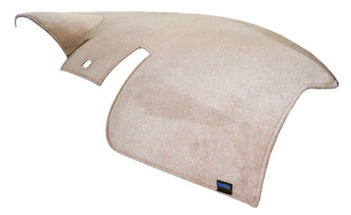 Dash Designs D1411-0VLT Light Taupe Plush Velour Dash Cover
