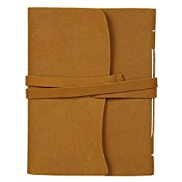 Handmade Leather Journal Notebook Diary for Men Women Gifts him her