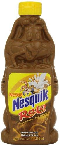 Nesquik Rolo Chocolate Caramel Syrup, 510ml Bottle