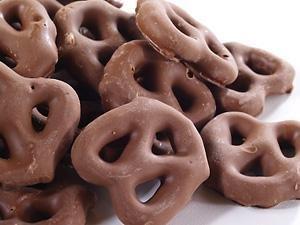 Amazon.com : Asher's Chocolate covered Pretzels 1 Lb Sugar Free ...