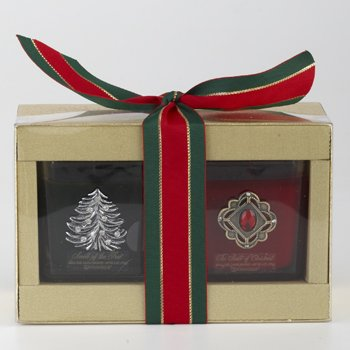 Scents of the Season Smell of Christmas & Smell of the Tree 6oz Candle Gift Set