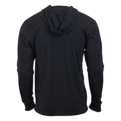 Jumpbox Fitness Logo - Black - Men's Long Sleeve Triblend Hoody Shirt