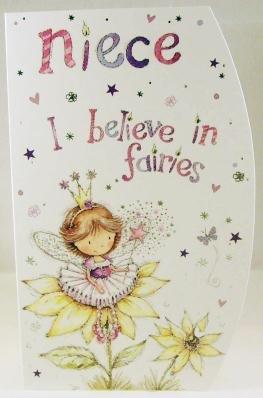 Niece Birthday, Birthday Greetings Card
