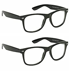 Redix New 2 in 1 combo TraditionaL Black Wayfarer Sunglasses