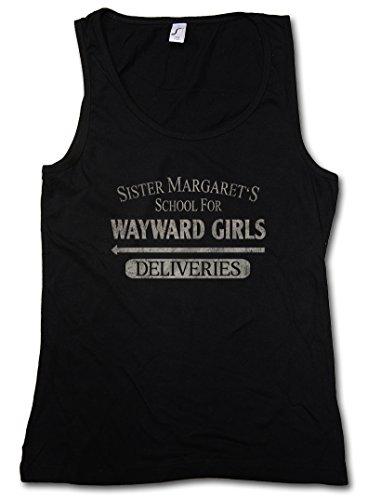 SISTER MARGATE'S SCHOOL FOR WAYWARD GIRLS DONNA CANOTTA TANK TOP - Deliveries Deadpool Hellhouse Boarding House Größen S - 5XL